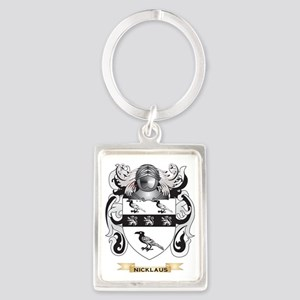 Nicklaus Coat of Arms (Family Cr Portrait Keychain