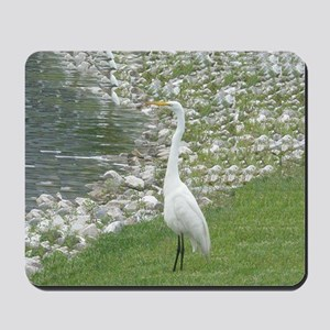 The Egret man allover Mousepad