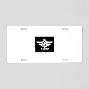 eusebio Aluminum License Plate