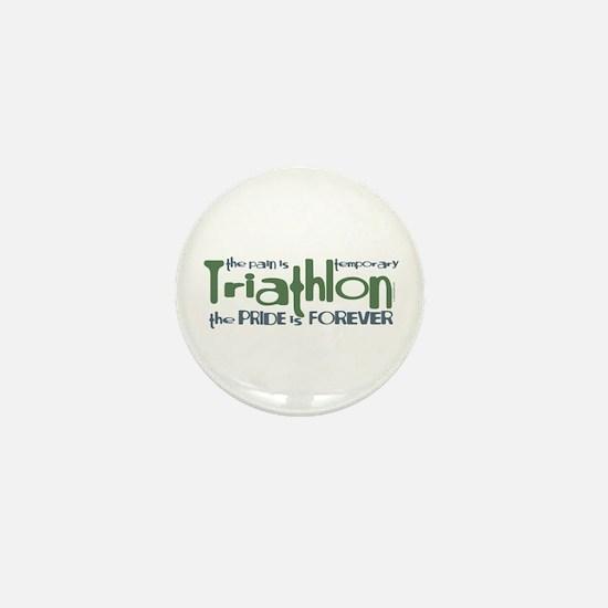 Triathlon - The Pride is Forever Mini Button