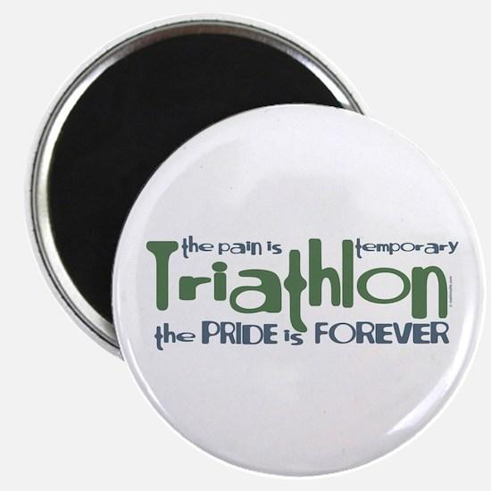 Triathlon - The Pride is Forever Magnet