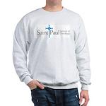 Sweatshirt - White Or Gray Sweatshirt