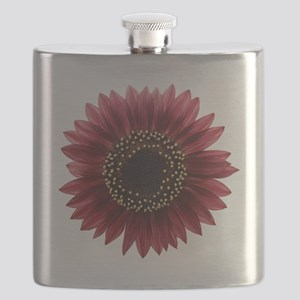 Ruby sunflower Flask