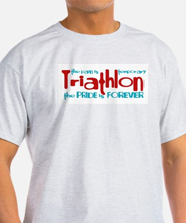 Triathlon - The Pride is Forever T-Shirt