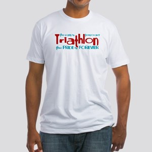 Triathlon - The Pride is Forever Fitted T-Shirt