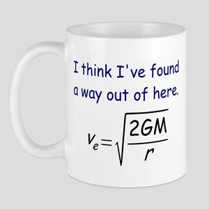Escape Velocity Mugs