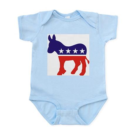 Democrat Donkey v4 Infant Creeper