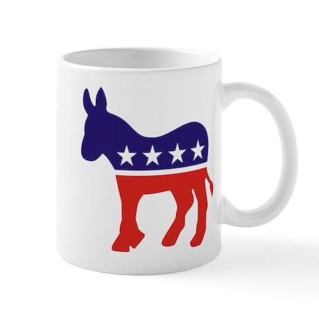 Democrat Donkey v4 Mug