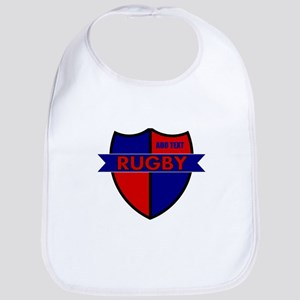 Rugby Shield Blue Red Bib