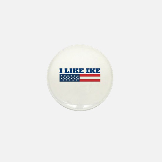 I Like IKE Mini Button