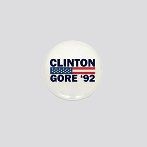 Clinton - Gore 92 Mini Button