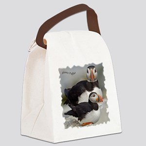 Puffin Tee Canvas Lunch Bag