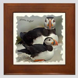 Puffin Tee Framed Tile