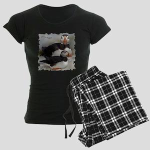 Puffin Tee Women's Dark Pajamas