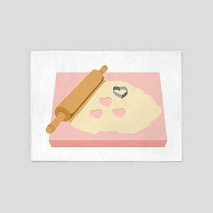 Heart Cookies 5'x7'Area Rug