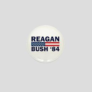 Reagan - Bush 84 Mini Button