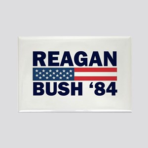 Reagan - Bush 84 Rectangle Magnet