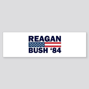 Reagan - Bush 84 Bumper Sticker