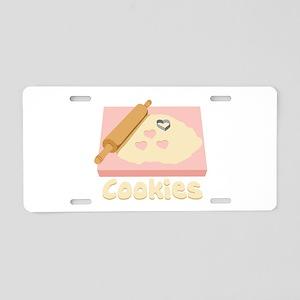 Cookies Aluminum License Plate