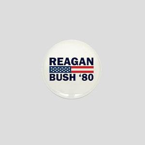 Reagan - Bush 80 Mini Button