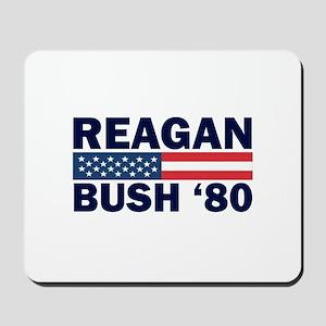 Reagan - Bush 80 Mousepad