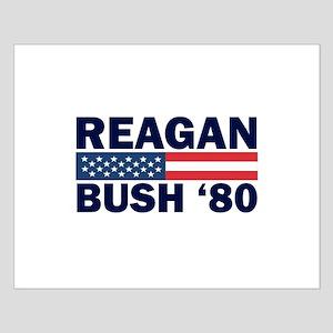 Reagan - Bush 80 Small Poster