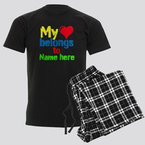 Personalizable,My Heart Belongs To Men's Dark Paja
