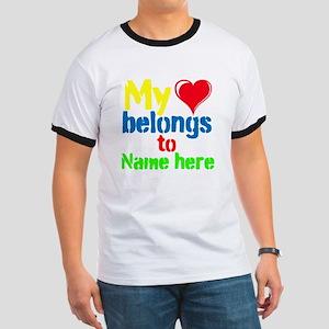 Personalizable,My Heart Belongs To Ringer T