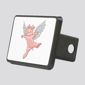 Flying Pig Rectangular Hitch Cover