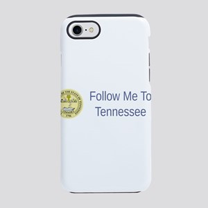 Tennessee State Seal #5 iPhone 7 Tough Case