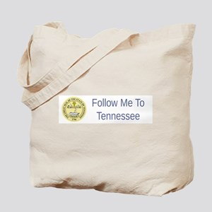 Tennessee State Seal #5 Tote Bag