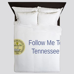 Tennessee State Seal #5 Queen Duvet