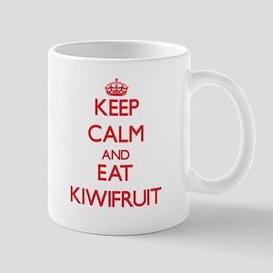 Keep calm and eat Kiwifruit Mugs