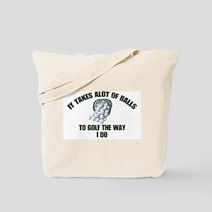 Golf - Alot of Balls Tote Bag