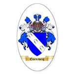 Eisenzweig Sticker (Oval 50 pk)