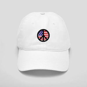 Peace Sign - Flag Cap