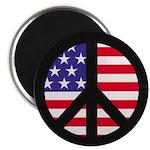Peace Sign - Flag 2.25