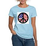 Peace Sign - Flag Women's Light T-Shirt