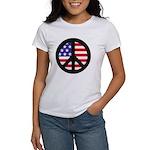 Peace Sign - Flag Women's T-Shirt
