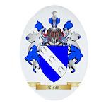 Eisen Ornament (Oval)