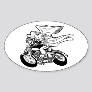 Angel Flight II-a Oval Sticker
