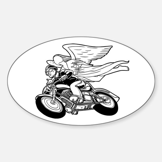 Angel Flight II-a Oval Decal