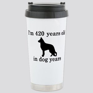60 birthday dog years german shepherd black 2 Trav