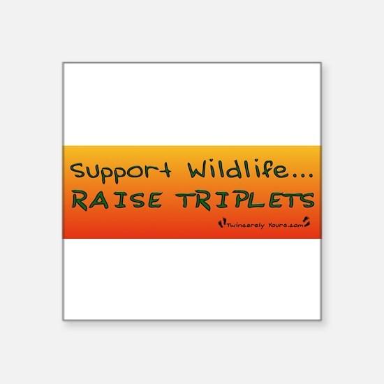 Support_Wildlife_Raise_Triplets_for_sticker Sticke