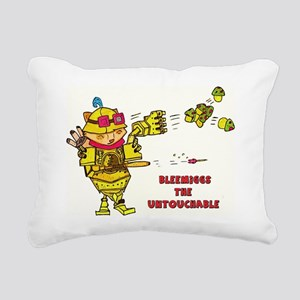 Bleemiggs The Untouchabl Rectangular Canvas Pillow
