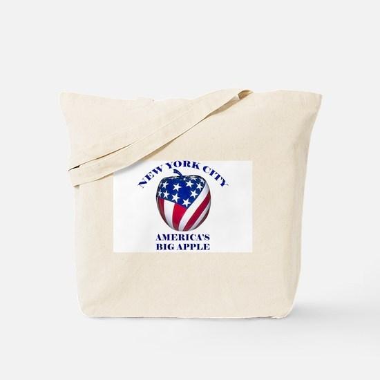America's Big Apple Tote Bag
