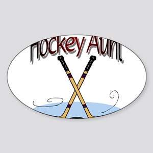 HOCKEY AUNT Sticker