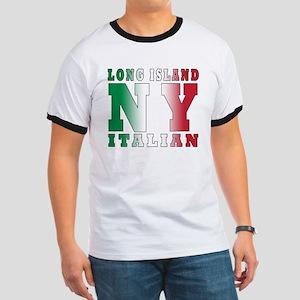 Long Island Italian Ringer T