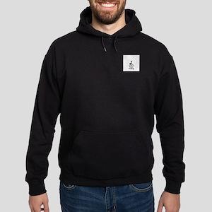 Team Curling Black Hoodie (dark)