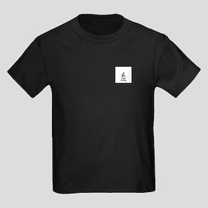 Team Curling Black Kids Dark T-Shirt